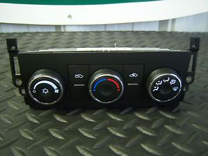 Chevy Silverado 1500 Climate Heat AC Control Panel 2009