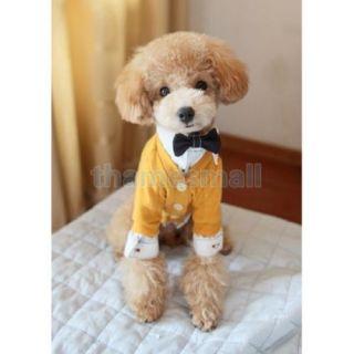 Pet Dog Puppy Soft Cotton Warm Jacket Coat Clothing Clothes Apparel Size s M L