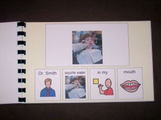 Dentist Social Story Book Pecs Schedule Kit Autism