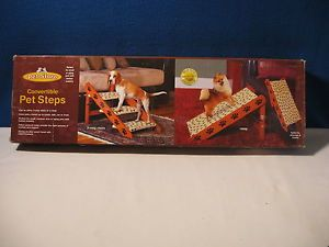 Convertible Pet Steps 3 Steps or Ramp for Small Medium or Aging Pets