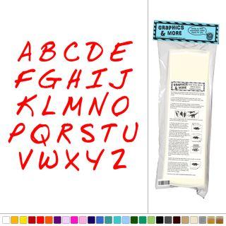 Alphabet Handwriting Kids Room Nursery Classroom Sticker Decal Wall Art Decor