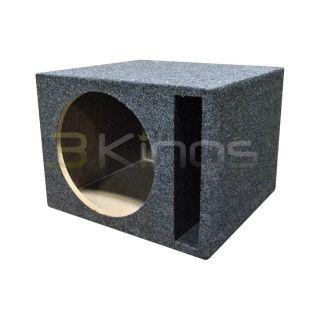 "New Q Power QSBASS12 Empty Subwoofer Sub Box 1 12"" Slot Ported"