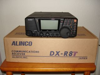 Alinco DX R8T Shortwave Communications Radio Receiver with EXTRAS Mint