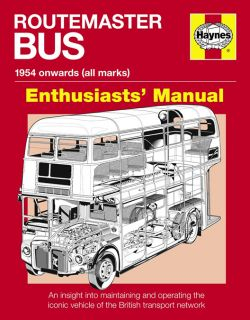 Haynes Enthusiast Routemaster London Bus MANUAL1954 Onwards Andrew Morgan H4938 1844259382