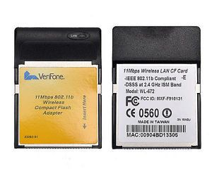 CF Compact Flash Wireless WiFi Card for HP Compaq iPAQ