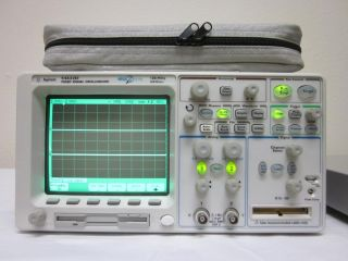 Agilent HP 54622D 2 16 Channel 100 MHz Mixed Signal Oscilloscope W Probes