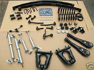 65 66 Mustang Complete Suspension Restoration Kit