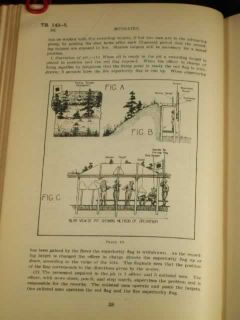 1924 Training Regulations Infantry Rifle Soldier Scouting Marksman Combat Drill