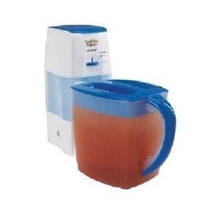 Mr Coffee TM75 Iced Tea Maker 3 Quart Tea Bags Leaves Control Steeping