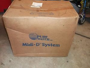 New Pure Water MIDI D Model MSD U Water Distiller Treatment System Purifier 3995