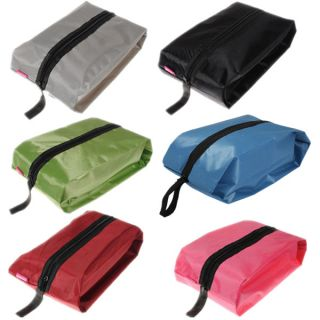 Outdoor Travel Waterproof Nylon Shoe Storage Tote Dust Bag Case Organizer Zipper