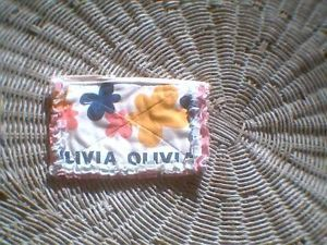 Rag Quilt Change Coin Purse Olivia The Pig