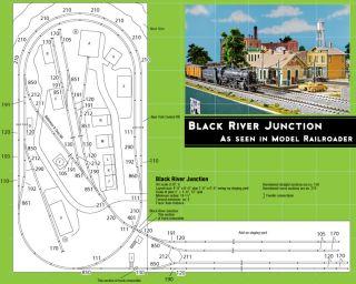 Kato 3 0680 HO Scale Black River Junction Train Layout Kato 30680