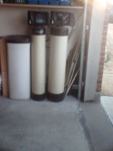 Rainsoft EC4 & RFC whole house water softener/filter