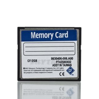 2X New High Speed 2GB Compact Flash CF Memory Card 2G 2 GB for Camera