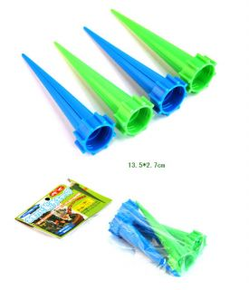 8pcs Garden Cone Watering Spike Plant Flower Waterers Bottle Irrigation System