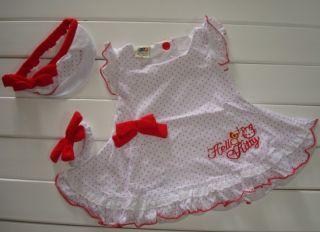 3pcs Kids Baby Girl Dress Headband Bracelet Set Outfit Costume Clothes 0 24M