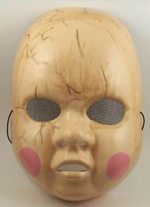 Creepy Baby Doll Costume Mask Pretty Little Liars TV Show Alison GR8 Fan Prop