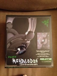 Razer Megalodon Black Headband Headsets for PC 8886419312246