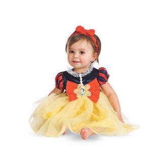 Girls Disney Snow White Princess Infant Costume