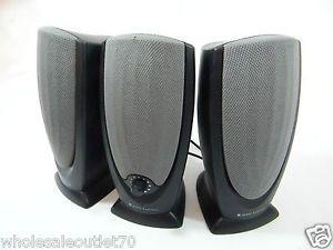 Lot of 3 Altec Lansing ADA215 Computer Speakers