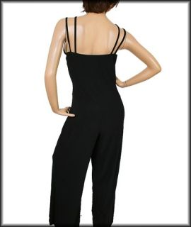 Glamorous Sexy Ashley Stewart Black Jumpsuit Plus