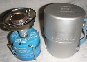 Used GAZ Globe Trotter 106 Camping Hiking Propane Butane Cooking Stove