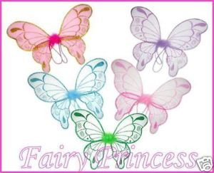 ¨ Girls Fairy Tinkerbell Wings ¨ Pixie Costume Wings