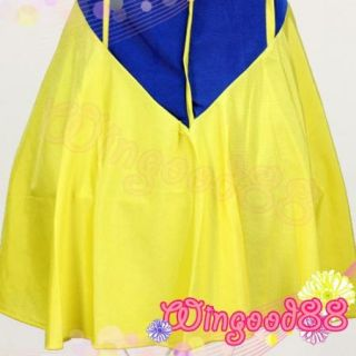 Sexy Queen Halloween Lingerie Snow White Cosplay Costume Princess Fancy Dress