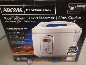 Aroma Professional Rice Cooker Food Steamer Slow Cooker Model No Arc 2000A