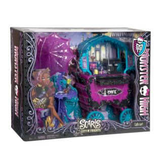 Monster High Scaris The City of Frights Cafe Cart Play Set