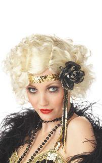 Hot Sexy 1920's Jazz Baby Halloween Costume Wig Blonde 70255