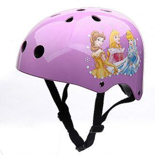 Cartoon Mountain Road Bicycle Racing Ski Helmet Cycle Skate K0192