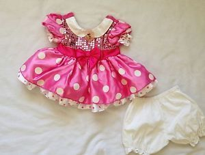 Minnie Mouse Baby Toddler Costume 12 Months