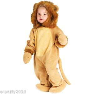 Cuddly Lion Tiger Cub Halloween Jumpsuit Costume 6 12mos Toddler Infant