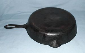 Hammered Cast Iron 8 Frying Pan Skillet Rustic Cookware