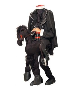 Headless Horseman Funny Scarey Mens Halloween Costume