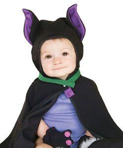 Baby Vampire Bat Cape Infant Kids Halloween Costume