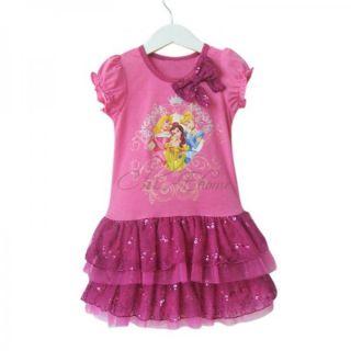 Baby Girls Princess Dora Peppa Pig Ruffle Dress Tutu Party Summer Costume Sz 1 6
