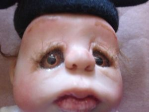 OOAK Doll Mickey Mouse Clothes Life Like Baby Moveable Parts Ciao Bella Babies