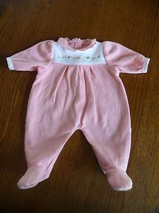 3 American Girl AG Bitty Baby Doll Clothes Sleepers Outfits Rompers Pajamas PJs