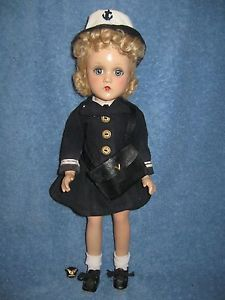 Vintage Wave Madame Alexander Doll 15in in Original Clothes Composition LQQK