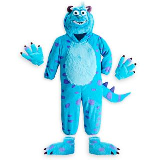Deluxe Sulley Costume Hands Feet Hood Head NWT  Monsters University