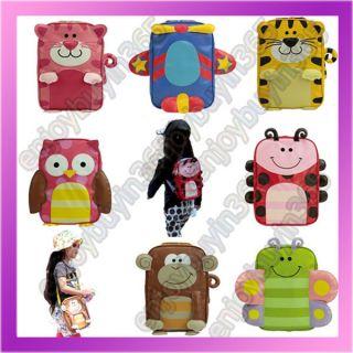 Hot Boys Girls Toddler Kid Child Cartoon Animal Backpack Schoolbag Shoulder Bag