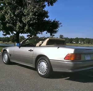 1991 Mercedes Benz 500 SL 42 000 Miles Convertible Hardtop Like New