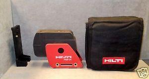 Hilti PMP 34 Laser Case Accessories Low Usage