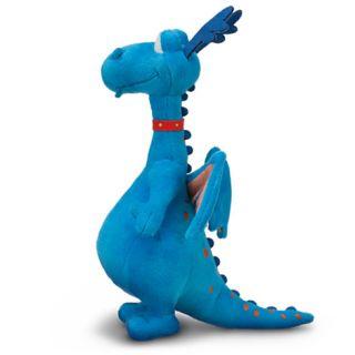"Stuffy 8 5"" 21 6cm Plush Doc McStuffins Disney Jr Blue Dragon NWT"