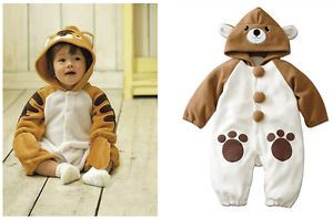 One Piece Infant Toddler Baby Girl Boy Cute Romper Bodysuit Clothes Outfit Set