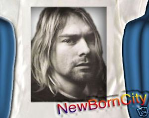Kurt Cobain Nirvana Onesie Baby Clothes Tee Gift Rock