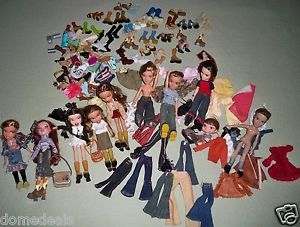 Lot of Bratz Clothes Accessories Boys Girls Shoes Feet Free Immediate Shipping